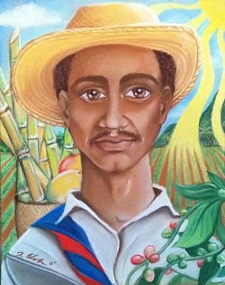 Padre Tierra Art Print by Xiomara Aleksic