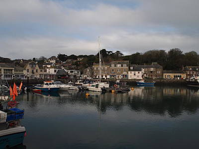 Padstow Harbour Art Print by Christopher Mercer