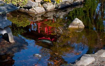 Photograph - Pagoda Reflections by Tikvah's Hope