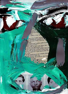 Racism Mixed Media - Pain And Privilege Number Four by Harold Smith