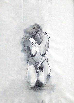 Pain Art Print by Nesli Sisli