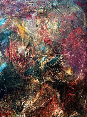 Painting - Painorgion #2. Cave by Alfredo Gonzalez