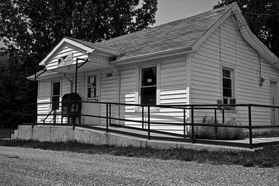 Country Side Photograph - Paint Bank Post Office Va by Betsy Knapp