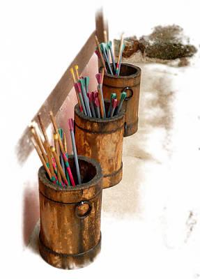 Photograph - Paint Brush 2 by Allan Rothman