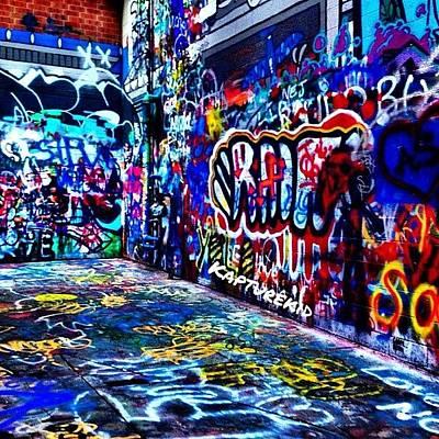 Expression Wall Art - Photograph - 🎨paint🎨 #graffiti #paint #art by Anthony  Bates