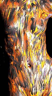 Paint Smears Art Print