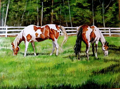 Paint The Fields Art Print by Crystal  Harris-Donnelly