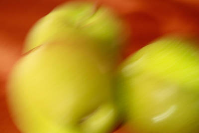 Photograph - Painted Apples by Ann Murphy