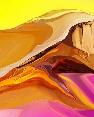 Digital Art - Painted Desert 012612 by David Lane