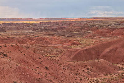Photograph - Painted Desert 9 by Susan OBrien