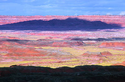 Painted Desert Cloud Shadow Art Print