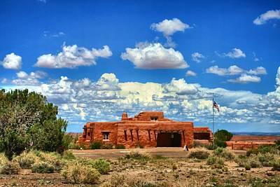 Glm-foto Photograph - Painted Desert Inn by Geri Linda Metterle