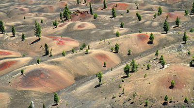 Photograph - Painted Dunes In Lassen Volcanic National Park by Pierre Leclerc Photography