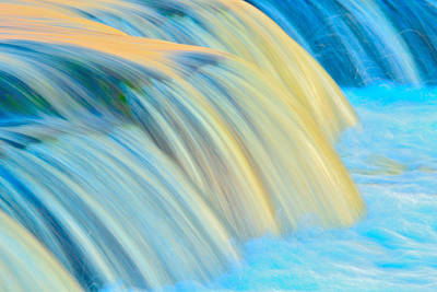 Painted Falls Art Print