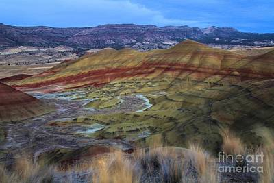 Photograph - Painted Hills At Dusk by Adam Jewell