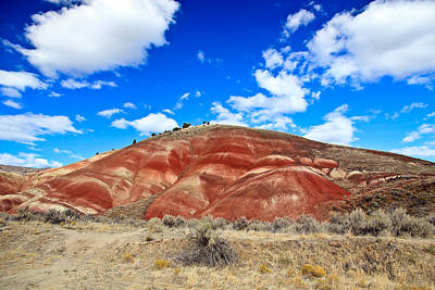 Photograph - Painted Hills In Eastern Oregon by Athena Mckinzie