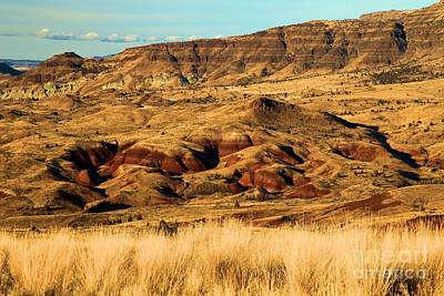 Photograph - Painted Hills In Sheep Rock by Adam Jewell