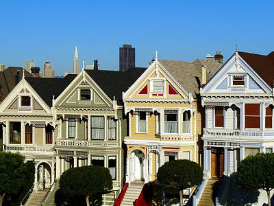 Photograph - Painted Ladies 4 by Jeff Lowe