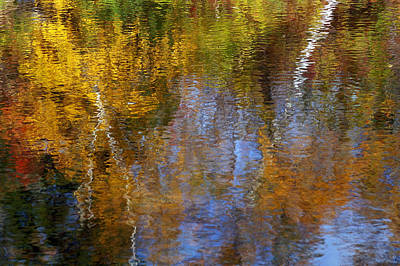 Painted River Original by Bill Morgenstern