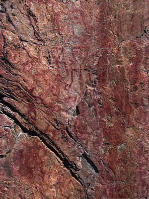 Photograph - Painted Rocks At Hossa With Stone Age Paintings by Jouko Lehto