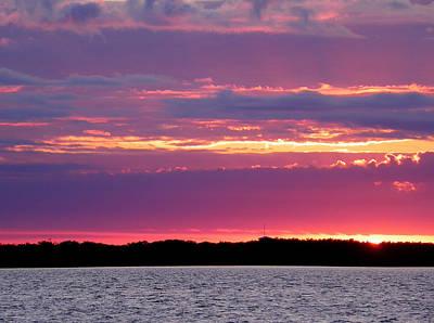 Photograph - Painted Sky by Judy Wanamaker