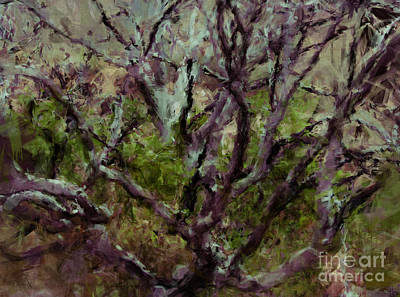 Painting - Painted Tree by Julie Lueders