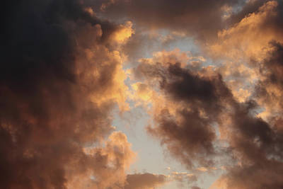 Painter Clouds Art Print by Nick  Shirghio