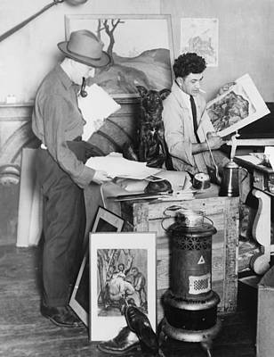 Realism Photograph - Painter William Gropper 1897-1977 by Everett