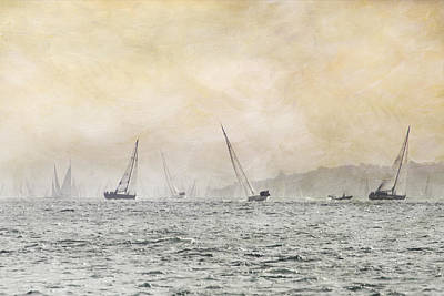 Painterly - Round Island Race Art Print