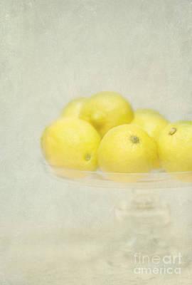 Painterly Lemons Stilllife Art Print