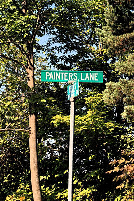 Photograph - Painters Lane by Cyryn Fyrcyd