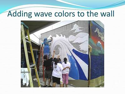 Painting - Painting The Waves by Carol Rashawnna Williams