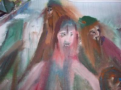 Painting Vikings Art Print by Judith Desrosiers