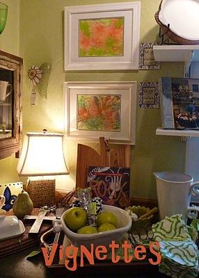 Photograph - Paintings At Vignettes by Carla Parris