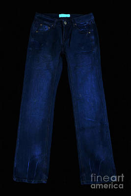 Levi S Photograph - Pair Of Jeans 1 - Painterly by Wingsdomain Art and Photography