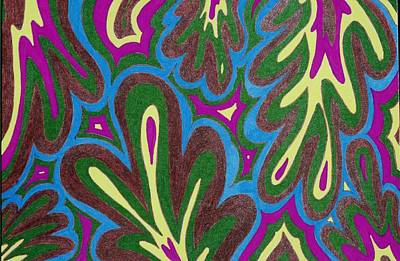 Drawing - Paisley Pill by Lesa Weller