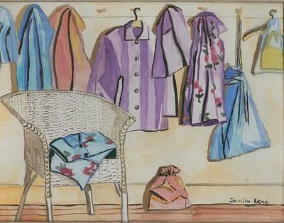 Pajamas Art Print by Jennifer Dewey
