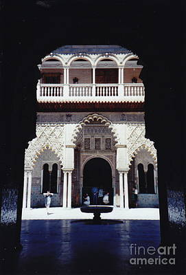 Photograph - Palace Arches by Barbara Plattenburg