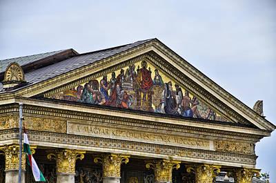 Palace Of Art - Heros Square - Budapest Print by Jon Berghoff