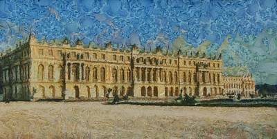 Versailles Painting - Palace Of Versailles by Aaron Stokes