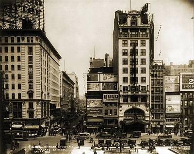Palace Theatre, New York City, Built Art Print by Everett