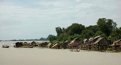 Photograph - Palafitos In Burma by RicardMN Photography