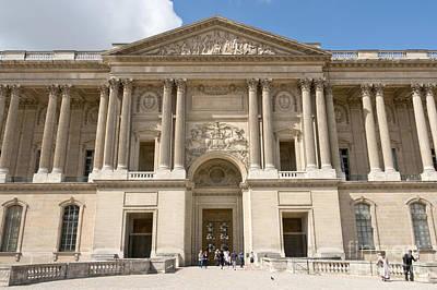 Photograph - Palais Du Louvre I by Fabrizio Ruggeri