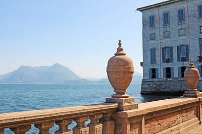 Lago Maggiore Photograph - Palazzo Borromeo by Joana Kruse