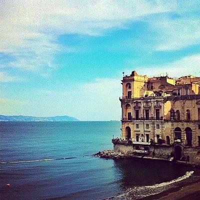 Palazzo Donn'anna - Napoli Italia Art Print