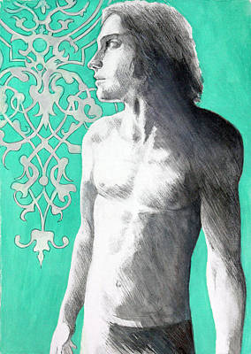 Painting - Dorian Gray by Rene Capone