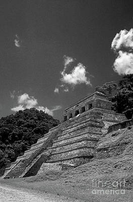 Photograph - Palenque Temple Chiapas Mexico by John  Mitchell