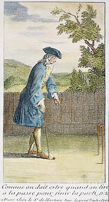 Pall Mall, 1717 Art Print