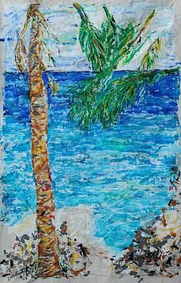 Palm 06 Art Print by Bradley Bishko