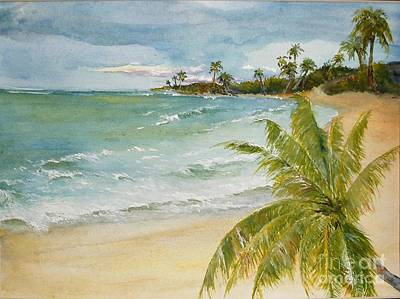 Painting - Palm Beach by Sibby S